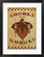 Framed Gobble Wobble
