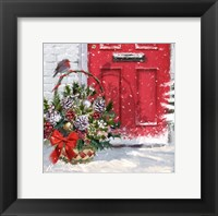 Framed Christmas Basket