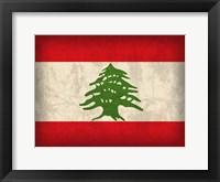 Framed Lebanon