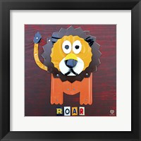 Framed Roar The Lion