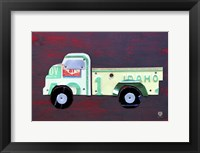 Framed Pickup Truck