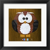 Framed Hoot The Owl