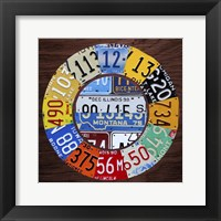 Framed Clock Square