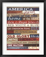 Framed America Proud