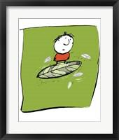 Framed Leaf Boy