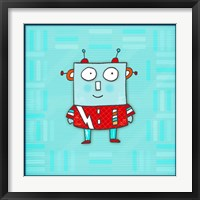 Robot Boy Framed Print
