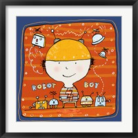 Robot Boy 2 Framed Print