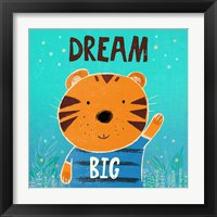 Dream Big Framed Print