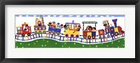 Framed Train Panel