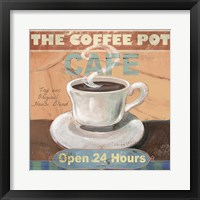 Framed Coffee Pot