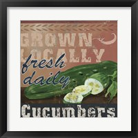 Farm Fresh IV Framed Print