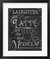 Framed Laughter & Latte