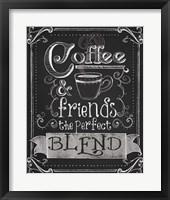 Framed Coffee & Friends