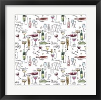 Taste of Wine I Framed Print