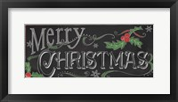 Framed Chalk Merry