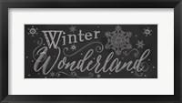 Framed Chalk Winter