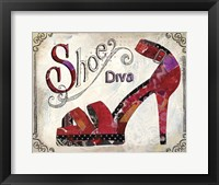 Framed Shoe Diva