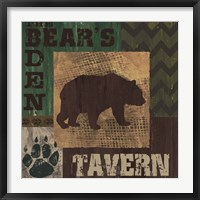 Framed Bear's Den Tavern
