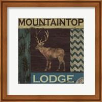Framed Mountain Lodge