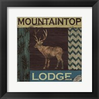 Framed Mountain Lodge