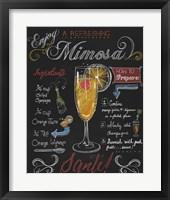 Framed Mimosa