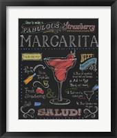 Framed Strawberry Margarita