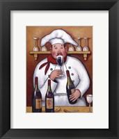 Framed Chef I