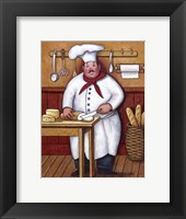 Chef III Framed Print