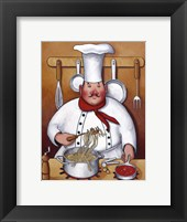 Chef IV Framed Print