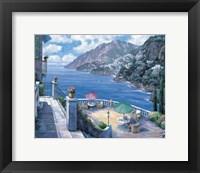 The Amalfi Coast Framed Print