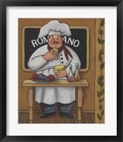 Framed Romano