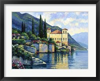 Framed Reflections Of Lago Maggiore