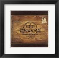 Framed Brown Ale
