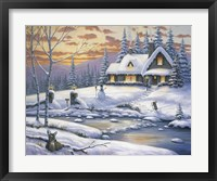 Framed Winter Retreat