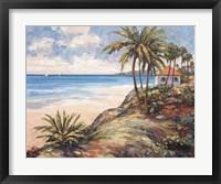 Framed Seaside Vista