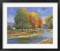 Framed New England Autumn