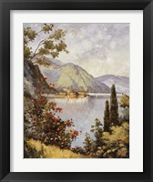 Framed Lake Como