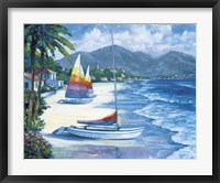 Framed Tropical Breezes