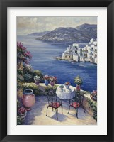 Framed Aegean Vista