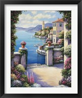 Framed Mediterranian Patio