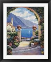 Framed Mediterranian Archway
