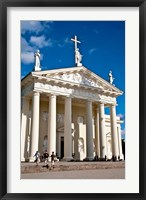 Arch-Cathedral Basilica, Vilnius, Lithuania I Framed Print