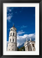 Framed Arch-Cathedral Basilica, Vilnius, Lithuania II