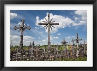 Framed Hill of Crosses, Siauliai, Central Lithuania, Lithuania I