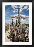 Framed Hill of Crosses, Siauliai, Central Lithuania, Lithuania II