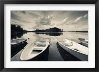 Framed Lake Galve, Trakai Historical National Park, Lithuania II