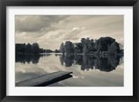 Framed Lake Galve, Trakai Historical National Park, Lithuania V