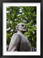 Framed Lithuania, Grutas Park, Statue of Lenin II