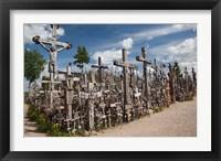 Framed Lithuania, Siauliai, Hill of Crosses, Christianity III