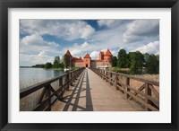 Framed Lithuania, Trakai Historical NP, Island Castle